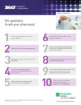 Ten questions to ask your pharmacist