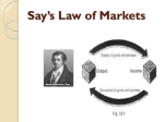Say`s Law of Markets