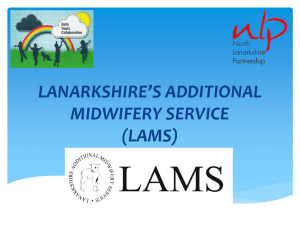 LAMS Opens new window - North Lanarkshire Council