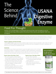 The Science Behind USANA Digestive Enzyme