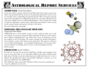 astrological report services
