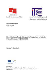 Identification of materials used in Technology of Interior