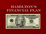 Chapter 7 Alexander Hamilton`s Financial Plan