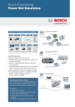 Bosch Engineering Power Net Simulation