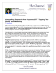 "Compelling Research Now Supports EFT ""Tapping"""