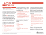 Living Cancer - The University of Arizona Cancer Center
