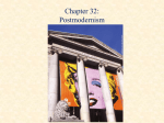Chapter 16: American Modernism and Postmodernism