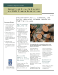 impacts of climate change on pnw timber production