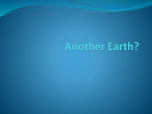 Another Earth - WordPress.com