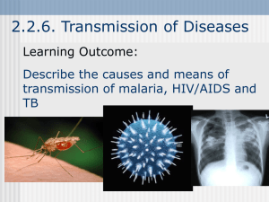 2.2.6. Transmission of Diseases
