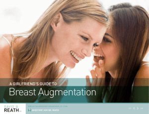 A Girlfriend`s Guide to Breast Augmentation