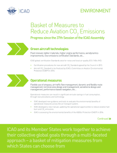 Basket of Measures to Reduce Aviation CO Emissions