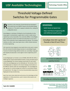 16A005 - Threshold Voltage-Defined Switches for Programmable