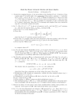 Math 55a: Honors Advanced Calculus and Linear Algebra Practice
