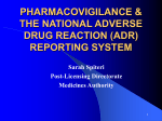 the national adverse drug reaction (adr