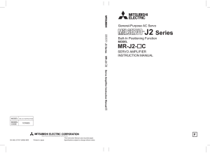 J2 Series - Mitsubishi Electric Corporation