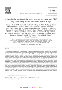 A long in situ section of the lower ocean crust: results of ODP Leg