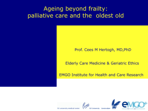 WHO, old - EMGO Institute for Health and Care Research