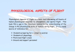 Physiological Aspects of Flight