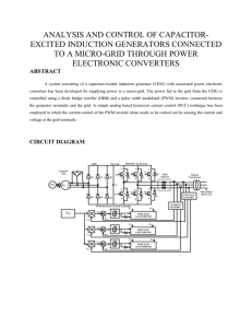CIRCUIT DIAGRAM Existing System