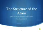 Chapter 4: Struct of Atom