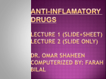 Computerized slides of lectures 1 + 2 (with sheet 1) by Farah Bilal