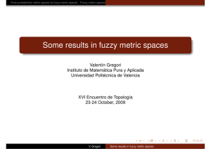 Some results in fuzzy metric spaces