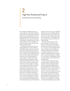 High-Rise Residential Projects