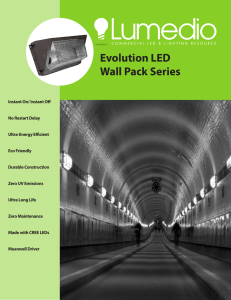 Evolution LED Wall Pack Series