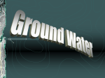 Ground Water - LCS Essentially Science