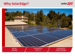 Why SolarEdge? - Amazon Web Services