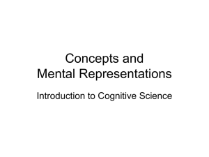 Memory, Concepts, and Mental Representations