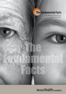 The Fundamental Facts - Mental Health Foundation