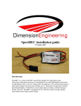 Installation guide - Dimension Engineering