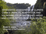 INTEGRATED ASSESSMENT IN THE PHILIPPINES