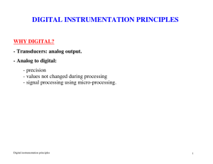 DIGITAL INSTRUMENTATION PRINCIPLES