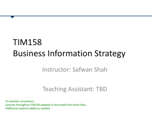 TIM158-2013-Lectures 10-11