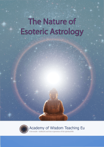 The Nature of Esoteric Astrology