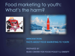 We all Want Healthy Children - Rudd Center for Food Policy and