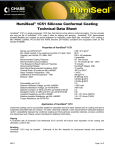 HumiSeal® 1C51 Silicone Conformal Coating Technical Data Sheet