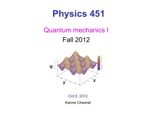 Physics 451 - BYU Physics and Astronomy