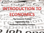 Introduction to Economics - PowerPoint Presentation