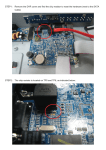 Remove the DVR cover and find the chip resistor to reset the hardware