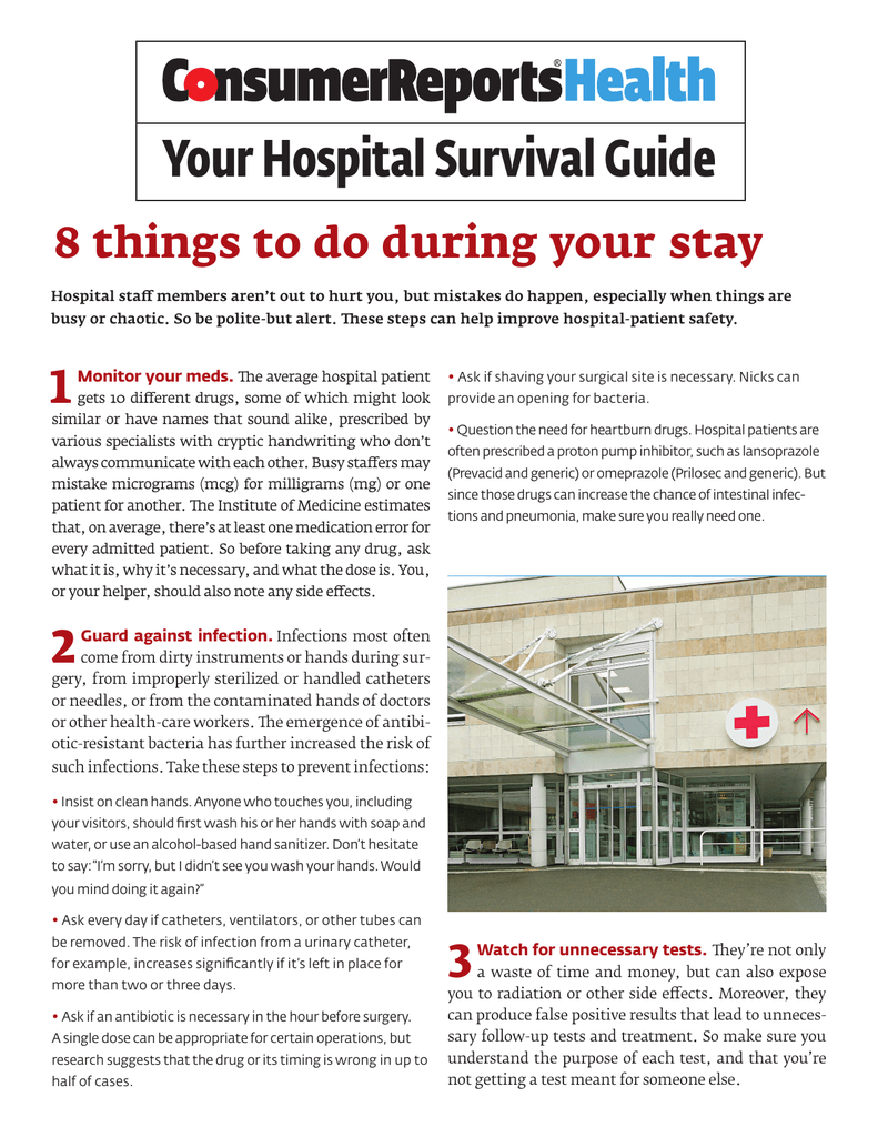 Your Hospital Survival Guide