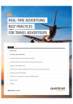 real-time advertising best practices for travel advertisers