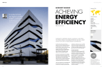 achieving energy efficiency