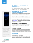 emc data computing appliance