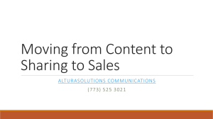 Content marketing - AlturaSolutions Communications