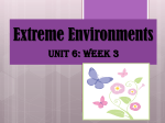 Unit 6 Week 3 Extreme Environments PowerPoint
