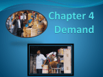 Chapter 4 Demand